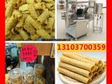 香酥鸡蛋卷食品加工机械 新型高效商用脆皮全自动手工蛋卷机