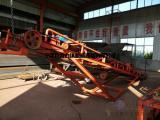 移动式输送带分体式震动筛沙机滚筒筛沙机直销特价