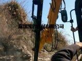 新旧挖掘机可以改装液压钻机代替人工气动钻孔新设备