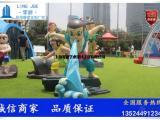 通州七种葫芦娃组合雕塑卡通公仔定制