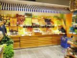 武昌汉阳汉口蔬菜水果店装修设计、星来利提供水果店装修效果图