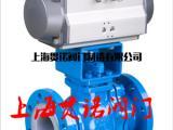 化工专用Q641F46-16C气动衬氟球阀