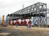 钢桁架钢栈桥