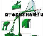 平果县户外篮球架厂家_制作厂篮球架价格
