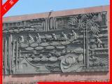 石雕人物浮雕壁画  砂岩浮雕 寺庙外墙干挂浮雕