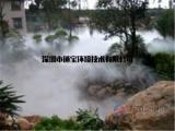 人造雾园林工程景观喷雾降温效果
