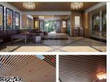 40*25天花吊顶生态木教室装修