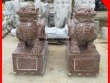 石雕貔貅批发 门口招财貔貅雕塑 惠安动物雕刻厂家