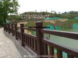 仿木桥梁栏杆_仿树藤栏杆施工_水泥仿木栏杆生产厂家