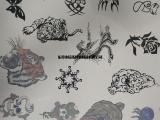 信拓儿童定制纹身贴纸加工 成人防水纹身贴水转印加工