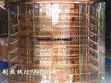 佛上厂家定制恒温不锈钢红酒柜 常温不锈钢酒柜酒架酒杯架