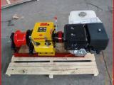 高速机动绞磨有柴油款双卷筒卷扬机配合汽油机使用