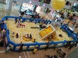 大型充气百万海洋球池商场亲子充气滑梯儿童乐园室内海洋球池厂家