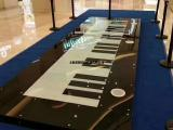 互动音乐装置地板钢琴出租21键地板灯钢琴出租