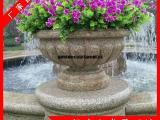 户外花钵盆景装饰 各种石材花钵尺寸定制 石雕花钵