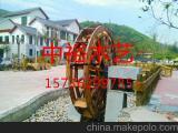 防腐木景观水车8米6米水车景观工程园林水车各种直径款式水车.
