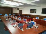 会议室液晶屏双屏升降器无纸化会议终端