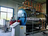 医药厂用2吨超低氮燃气蒸汽锅炉现场