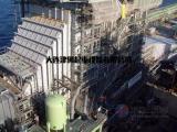 锅炉钢煤斗及烟风道