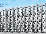 南昌明和伸缩门厂家直销 电动不锈钢门 小区自动门厂家