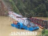 上海水葫芦打捞整治、水生植物绿萍清理船