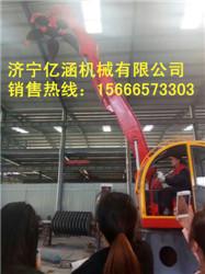 抓机厂家现货 现场操作视频 破碎机配件固定式抓钢机