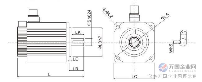 ACH系列伺服电机-中惯量-3