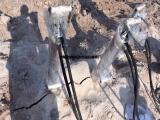 安徽亳州液压劈裂机岩石分裂机多规格劈裂机厂家支持定做