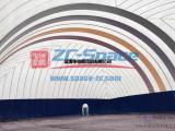 气膜结构建筑,室外充气膜结构,咨询中成空间