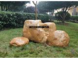 绿化园林石,刻字黄腊石,观景刻字石 黄腊石