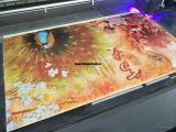 竹木纤维板3D装饰立体画uv浮雕印花机
