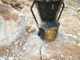 静态开采石材劈裂机效率高
