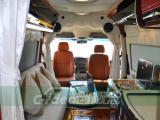 福特全顺改装房车内饰,定制车载厨房、电动沙发床