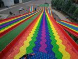 上门安装四季滑雪草七彩滑道 旱地滑道彩虹滑道游乐设施