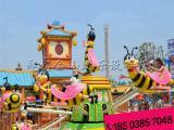 游乐场自控飞机 小蜜蜂自控旋转飞机