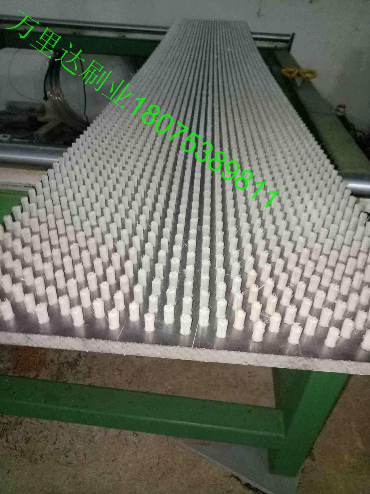 工业pvc板刷||毛刷板厂家 ||塑料板毛刷||数控冲床板刷