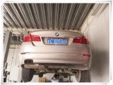 北京宝马5系凉车着车冒白烟维修方法