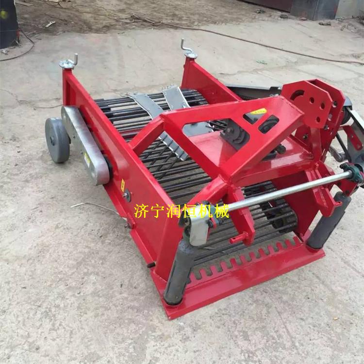 结实耐用红薯收获机  拖拉机带不伤皮土豆收获机