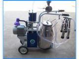 挤奶机 单桶活塞式家庭适用型小型挤奶机 移动式挤奶机