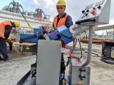 打坡口神器GMMA-100L多角度重型自动行走平板铣边机