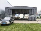 安吉推拉雨蓬-伸缩雨棚-推拉雨篷厂家-推拉帐篷生产厂家
