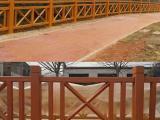 江西水泥仿木护栏_混凝土仿木栏杆_风景区仿树皮围栏