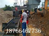 移动的河沙金淘金机械 可以选黄金的淘金车
