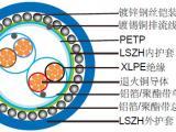 LSZH阻燃单对屏蔽&总屏蔽,铠装仪表缆(多对)