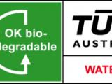 OK Biodegradable Water认证
