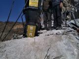 岩石劈裂机分裂器