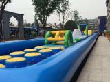 提供水上闯关游玩设备出租夏季水上游乐场项目租赁