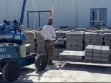 电动免烧砖吊砖机价格 电动免烧砖装车机价格