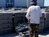 电动免烧砖上砖机 电动免烧砖装车机生产厂家