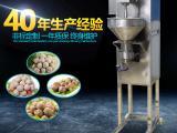 海川湖大型工业食品设备菠菜丸成型机
